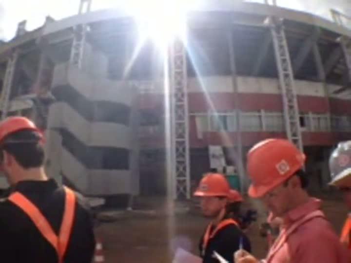 Veja a visita completa ao Estádio Beira-Rio
