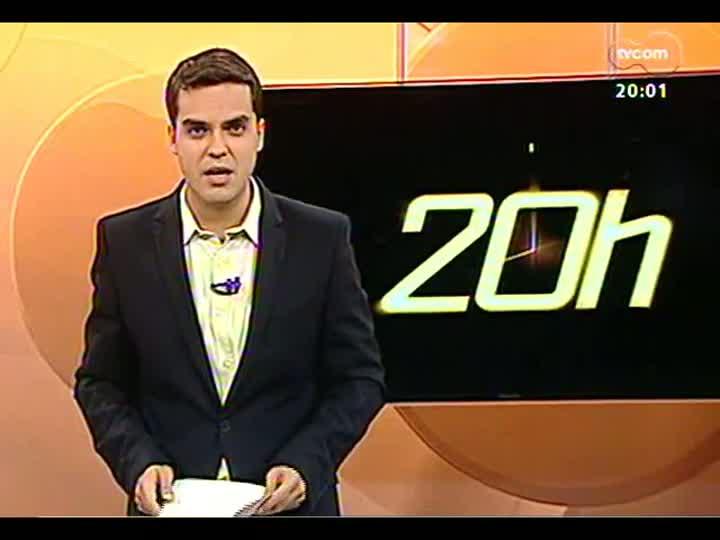 TVCOM 20 Horas - Coordenador-geral do Gabinete de Assuntos Especiais da Prefeitura de Porto Alegre fala da legislação rigorosa para novas antenas de celular - Bloco 1 - 10/06/2013