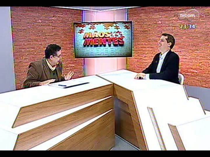 Mãos e Mentes - Consultor de Língua Portuguesa de todo o Sistema Globo de Comunicação, professor Sérgio Nogueira - Bloco 1 - 14/06/2013