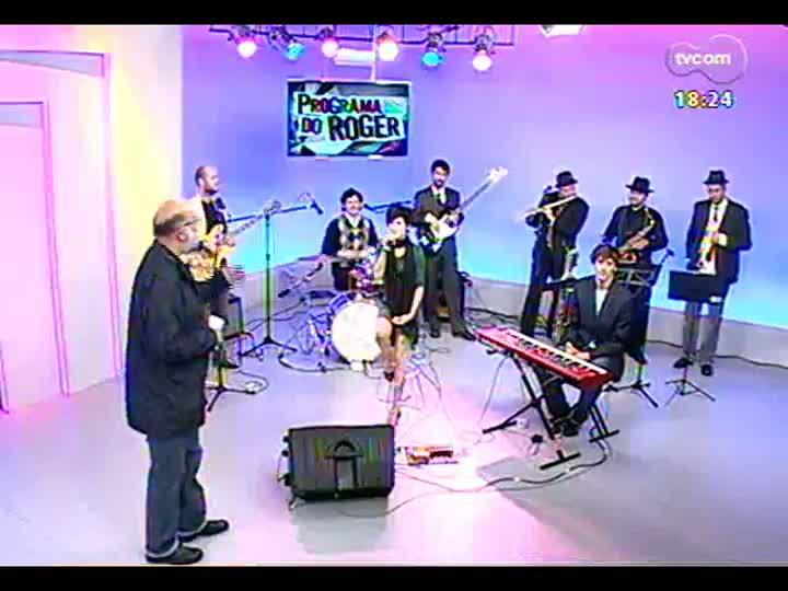 Programa do Roger - Projeto \'Back to black\' reúne músicos e homenageia Amy Winehouse - bloco 4 - 17/06/2013