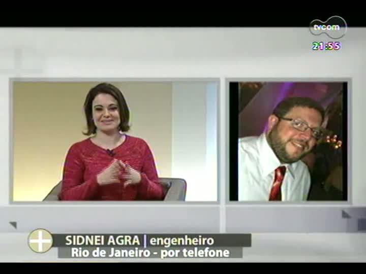 TVCOM Tudo Mais - Um bate papo com um voluntário que participa da JMJ no Rio de Janeiro