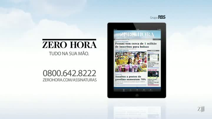 Leia na Zero Hora desta sexta-feira (26/07/2013)