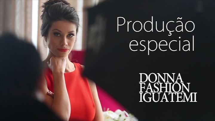 Donna - Making Of de produção de moda com a modelo Cinthia Heinzen