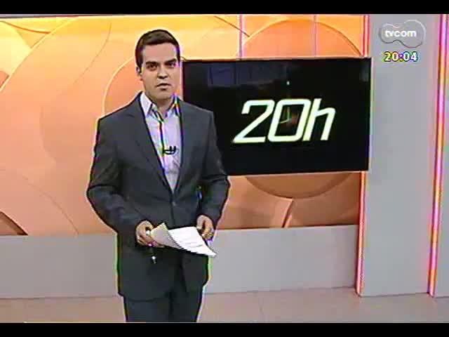 TVCOM 20 Horas - Informações sobre a segurança do acampamento farroupilha - Bloco 1 - 12/09/2013