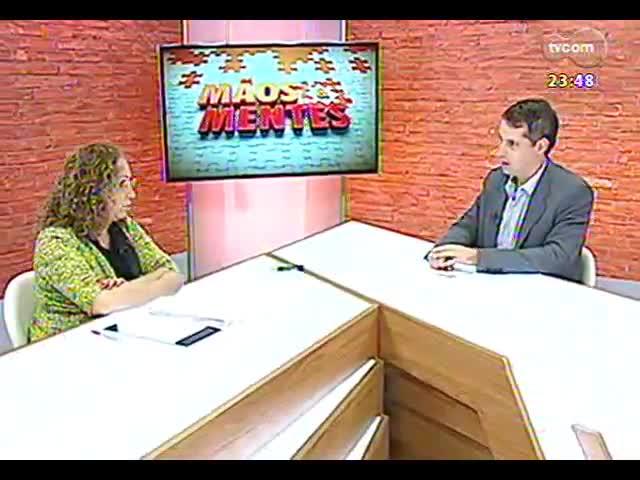 Mãos e Mentes - Secretária de Turismo do RS, Abgail Pereira - Bloco 2 - 09/10/2013