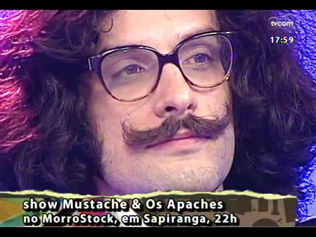Programa do Roger - Banda Mustache e os Apaches se apresenta no MorroStock - bloco 2 - 11/10/2013