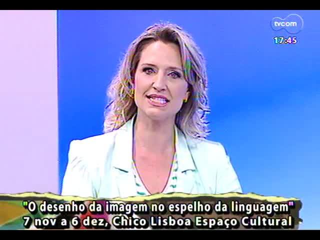 Programa do Roger - Artistas Antônio Augusto e Luís Felipe Bueno falam de exposição \'O desenho da imagem no espelho da linguagem\' - bloco 1 - 04/11/2013