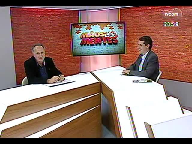 Mãos e Mentes - Fundador da empresa Elevato, Irio Piva - Bloco 3 - 11/11/2013