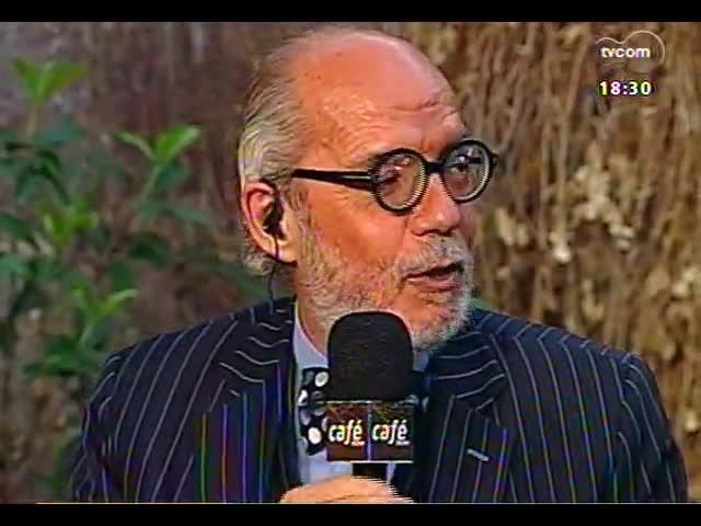 Café TVCOM - O trânsito entre o popular e o erudito na música e na literatura - Bloco 3 - 23/11/2013