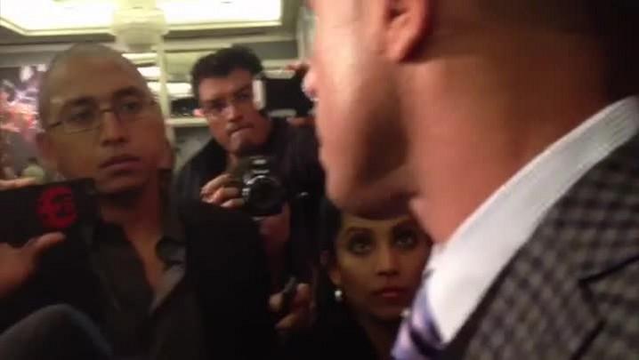 """Vitor Belfort: \""""cinturão dos médios será meu em 2014\"""""""