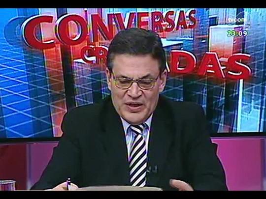 Conversas Cruzadas - Debate sobre a legislação eleitoral que impede a pré-campanha - Bloco 4 - 14/04/2014