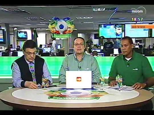 Fanáticos TVCOM - Pós-jogo Brasil X Croácia - 12/06/2014