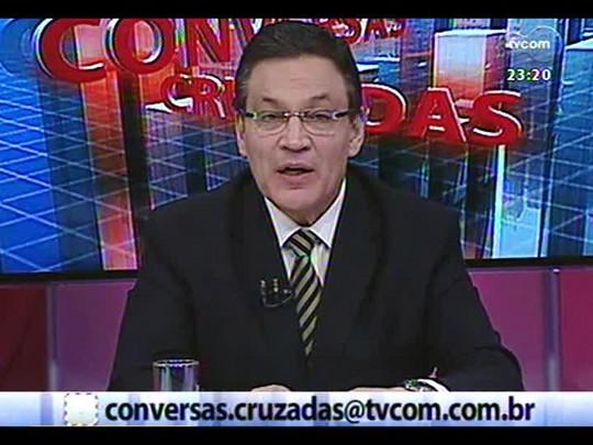 Conversas Cruzadas - A crise no sistema prisional do Estado - Bloco 3 - 19/06/2014