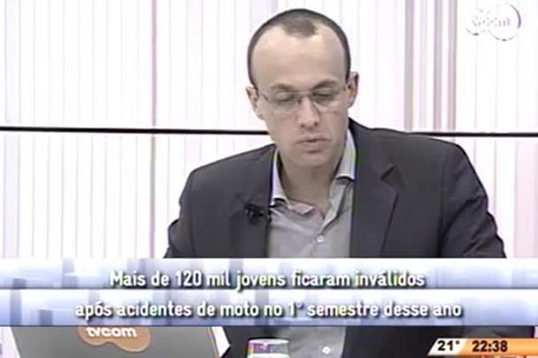 Conversas Cruzadas - Mais de 120 mil jovens ficaram inválidos no 1° semestre do ano - 3º Bloco - 01/08/14