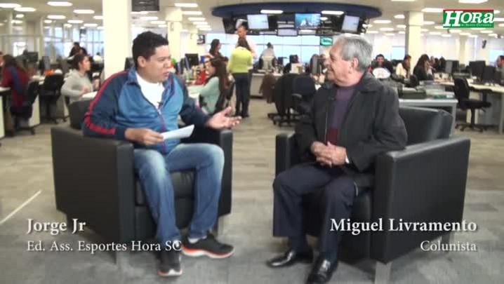 """Miguel Livramento: \""""Avaí e Figueirense vão fazer o jogo do biquinho\"""""""