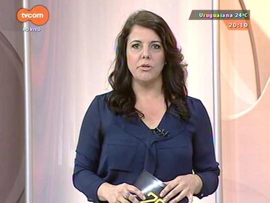 TVCOM 20 Horas - Não há pistas sobre quadrilha que atacou Banrisul em Barra do Ribeiro - Bloco 3 - 14/10/2014