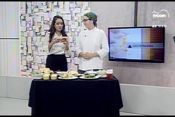 TVCOM Tudo+ - Quadro gastronomia: aprenda a fazer um belo sanduiche gourmet - 24.06.15