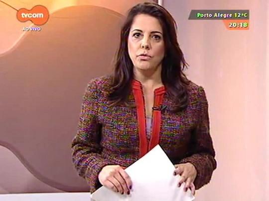 TVCOM 20 Horas - Chuvas deixam mais de 4.700 pessoas desabrigadas no estado - 15/07/2015