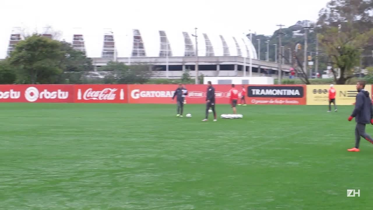 Inter realiza treino de finalizações