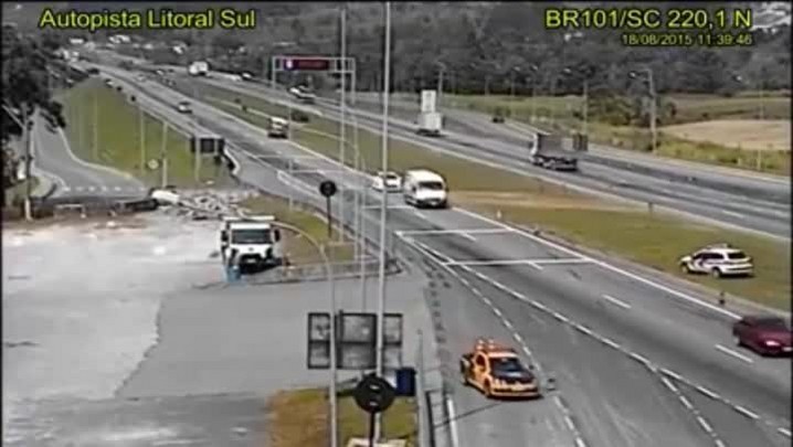 BMW furtada em Criciúma é abordada em Palhoça, em operação conjunta entre PRF e PM