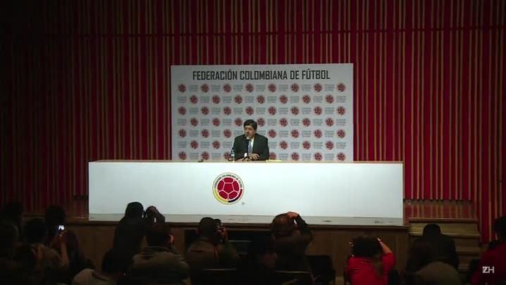 Presidente da Federação colombiana de futebol renuncia
