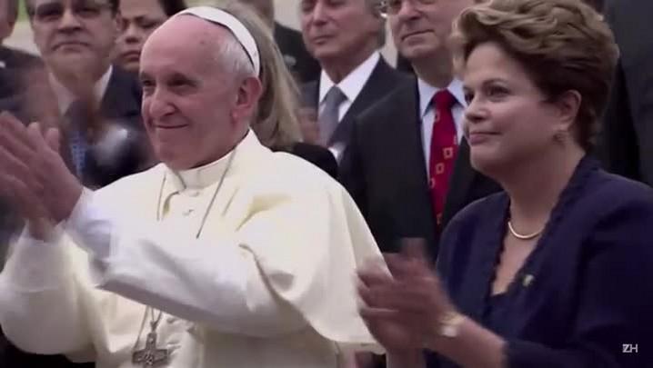 Papa pede \'diálogo\' no Brasil