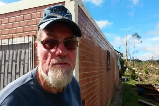 \'Foi tudo muito rápido\', diz morador de Porto União