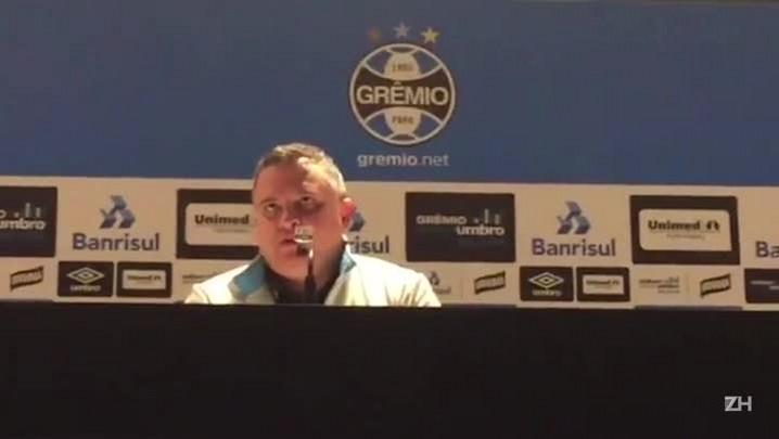 Dutra comenta sobre a sequência de próximos jogos do Grêmio