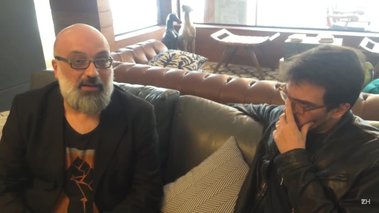 Roger Lerina entrevista Rodrigo Teixeira