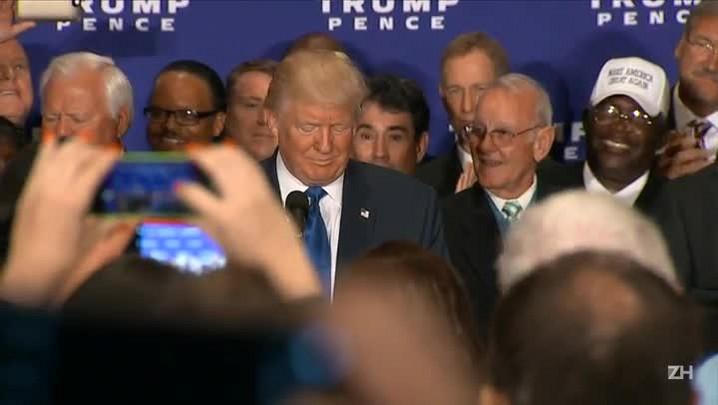 Trump reconhece que Obama nasceu nos EUA