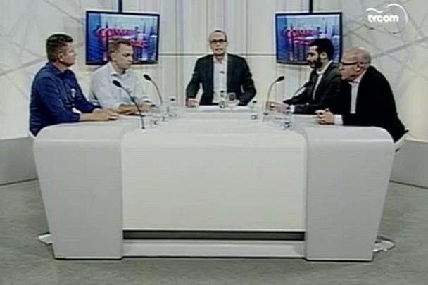 TVCOM Conversas Cruzadas - Entrevista com o candidato Gean Loureiro (PMDB) e o vice João Batista Nunes. - 2º Bloco.