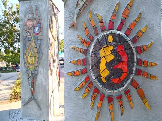 Itajaí Cultural: Painéis de Cerâmica