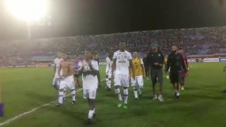 Chapecoense estreia com vitória na Libertadores da América
