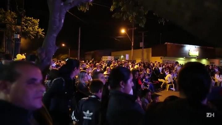 Festa para Emilly em Eldorado do Sul