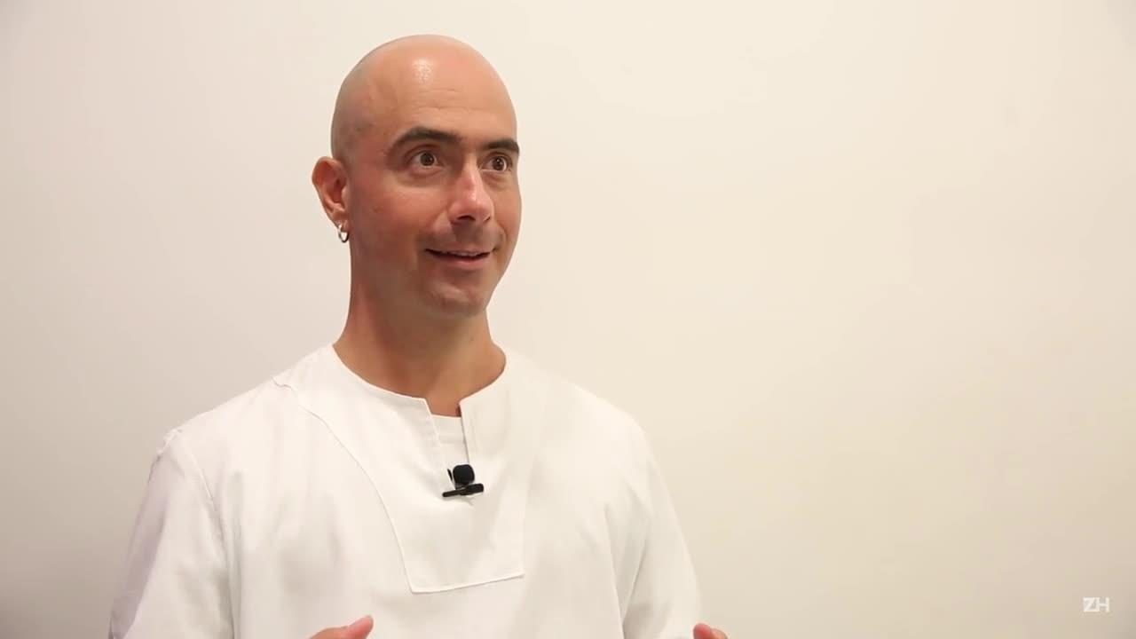 Monge Satyanatha ensina a forma correta de respirar
