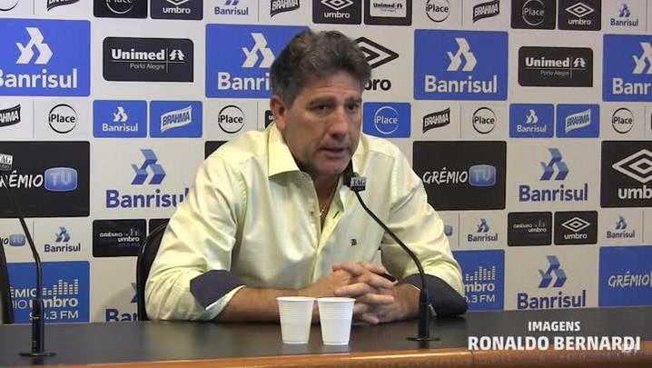 Renato comenta confronto com o Cruzeiro