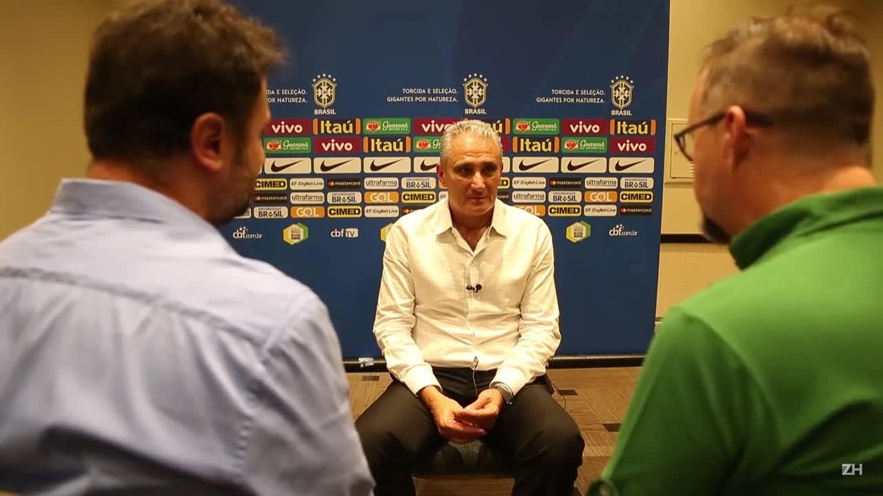 Tite confirma presença na Arena e fala sobre as chances de Geromel, Arthur e Luan na Copa