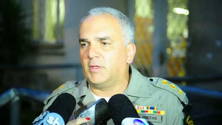 Comandante do Policiamento na Capital comenta a prisão dos suspeitos de balearem médica na Capital