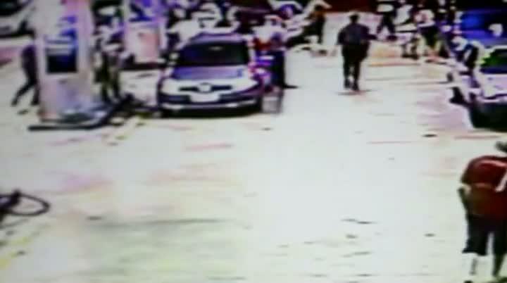 Taxista agride frentista em Florianópolis e é detido pela polícia