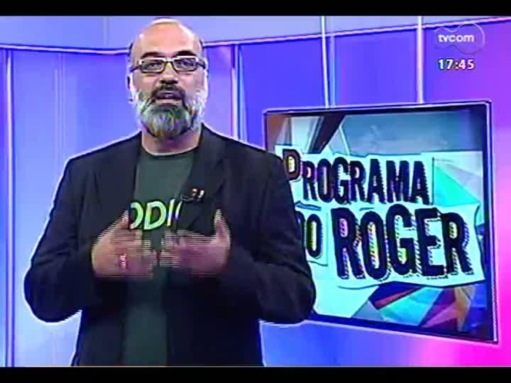 Programa do Roger - Confira a participação da banda Samba Grego - bloco 1 - 02/04/2013