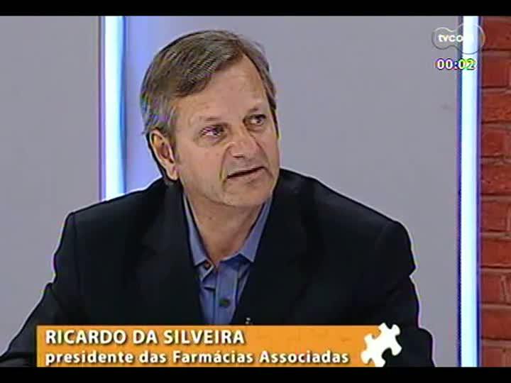 Mãos e Mentes - Presidente das Farmácias Associadas, Ricardo Duarte da Silveira - Bloco 3 - 06/05/2013