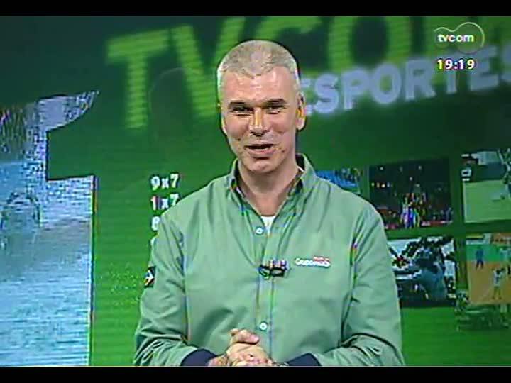 """TVCOM Esportes - Especial \""""1 ano para a Copa\"""": Maurício Saraiva fala sobre Grêmio X São Paulo - Bloco 2 - 12/06/2013"""