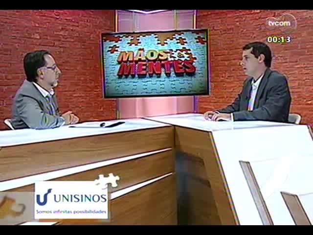 Mãos e Mentes - Flavio Pechansky, psiquiatra e diretor do Centro de Pesquisa em Álcool e Drogas da UFRGS - Bloco 4 - 03/10/2013