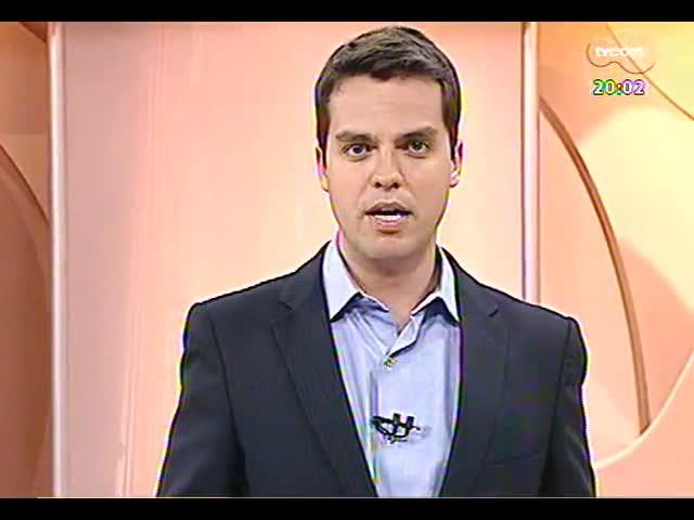 TVCOM 20 Horas - Presidente do Banrisul fala sobre a criação de duas novas empresas ligadas ao banco - Bloco 1 - 18/11/2013