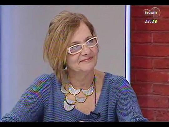 Mãos e Mentes - coordenadora do Coletivo Feminino Plural e jornalista Telia Negrão - Bloco 2 - 22/04/2014