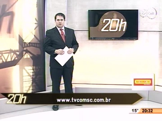TVCOM 20 Horas - Atenção redobrada nas estradas: feriadão deve registrar aumento no movimento em Santa Catarina - Bloco 3 - 18/06/14