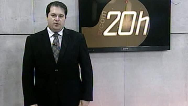 TVCOM 20Horas - Ônibus de Torcedores do Avaí é Apedrejado na BR-101 - 2ºBloco - 24.09.14