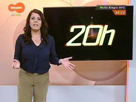 TVCOM 20 Horas - Bote localizado no mar pode ser de veleiro argentino desaparecido - Bloco 3 - 14/10/2014