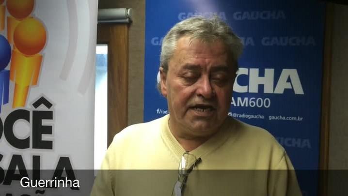 Guerrinha fala sobre o duelo entre Inter e Corinthians