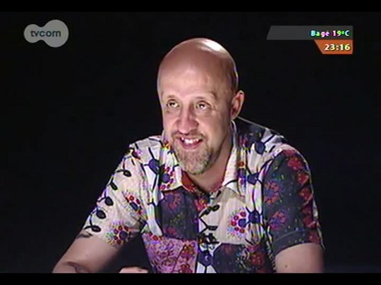 Mãos e Mentes - Escritor e jornalista Fabrício Carpinejar - Bloco 2 - 14/12/2014